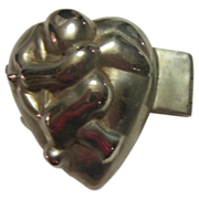 Heart Shaped with Cupid Ice Cream Mold