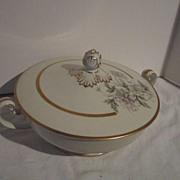 Vintage Noritake Ceramic Covered Serving Bowl