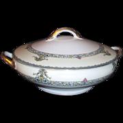 Noritake Covered Casserole Bowl Darby Pattern