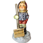 "SALE Hummel Boy with Snow Shovel ""Let It Snow"""