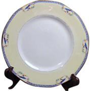 Haviland China Calcutta Pattern Dinner Plate 1920-1925