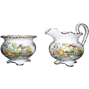 Aynsley English Bone China Cream & Sugar Set