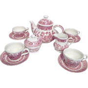 Pink Willow Rosa Tea or Coffee Set