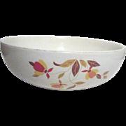 """Hall's Jewel Tea 9"""" Round Serving Bowl/Autumn  Leaf"""