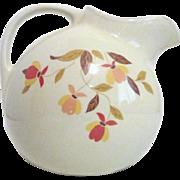 Hall Jewel Tea Autumn Leaf Pattern Ball Jug