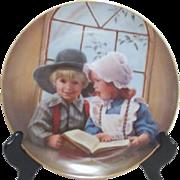 Decorator Plate Little Tutor 1983