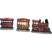 3 Section Mervyn's Village Square Christmas Train Lights