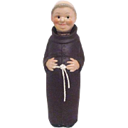 Goebel West Germany Friar Tuck or Monk Decanter