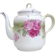 Welmar Germany Teapot with Roses