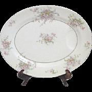 Theodore Haviland Apple Blossom Meat Platter