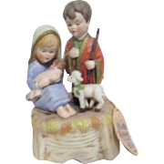Lefton The Bethlehem Collection Nativity Scene Music Box