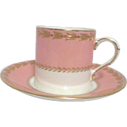 Royal Worcester Demitasse Cup and Saucer