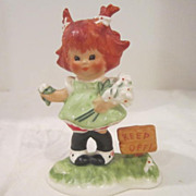 SOLD Vintage Red-Headed Goebel Figurine from West Germany