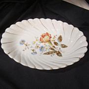 Vintage Unmarked Porcelain Serving Bowl