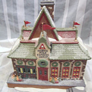 Department 56 North Pole Christmas Village Express Depot