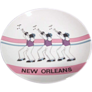 New Orleans Jazz Decorative Plate