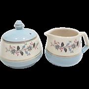 Cream & Sugar Set by Keele St. Pottery Co.Ltd, England