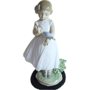 "Lladro "" Are You Tired"" Porcelain Figurine"