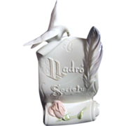 "LLadro Scroll with ""Lladro Society"" and Dove"