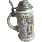"Coca Cola Stein with Lid ""The Soda Fountain"""