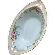 """Small Hand Painted Lusterware Bowl """"RS"""" Germany"""