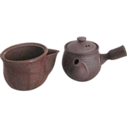 Pair of Japanese Miniature Tea Pots