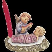 Hummel Figurine of Christmas Angel Serenading Baby Jesus