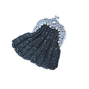 Darling Small Beaded Purse or Reticule, early 1900's