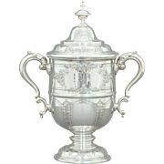 Reed & Barton Sterling Silver Covered Trophy Cup