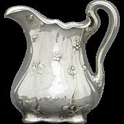 Gorham Martele .9584 Sterling Silver Water Pitcher C. 1909 SDC
