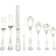 English King by Tiffany & Co 102 Piece Set Sterling Silver Flatware