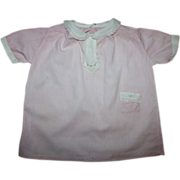 SOLD Pink and White Toddler Dress Early 1900s