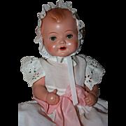 SOLD Schoberl & Becker Celluloid Baby Doll 1940s
