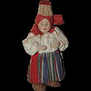 SOLD Delightful Stockinette Doll Soviet Union 1930s