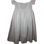 SOLD Antique White Baby Gown Late 1910