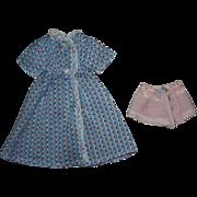 Madame Alexander Wendy Dimity Doll Dress 1930s