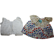 Darling Dress and Chemise for Effanbee Patsy and Friends 1930s