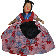 SOLD Fabulous Women Ethnic Topsy-Turvy Doll 1940s