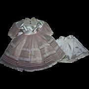 American Character Sweet Sue Bridesmaid Dress and Slip 1956