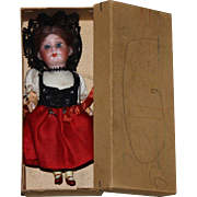 Armand Marseille Bisque Doll House Doll in her Original Box