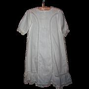 SALE PENDING Antique Lawn Baby Gown 1910