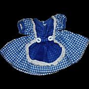 Arranbee Littlest Angel Cotton and Organdy School Girl Dress 1950s