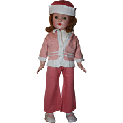 Lovely Three Piece Doll Outfit for Composition Dolls 1930s