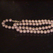 Light Lavender Freshwater Pearl Necklace