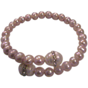 Fresh Water Cultured Pearl Bracelet - adjustable