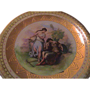 Royal Vienna Austrian Beehive (blue) Marked Plate - figural