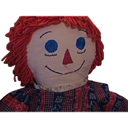 Very Large Hand Made Raggedy Ann