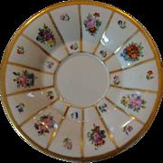 Royal  Copenhagen Floral Saucer
