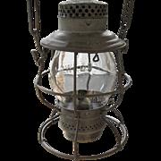 SOLD Chicago & Northwestern Railroad Tall Globe Lantern