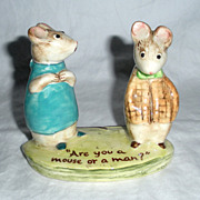 Vintage Rare Beswick Figurine, Strained Relations, by Kitty MacBride